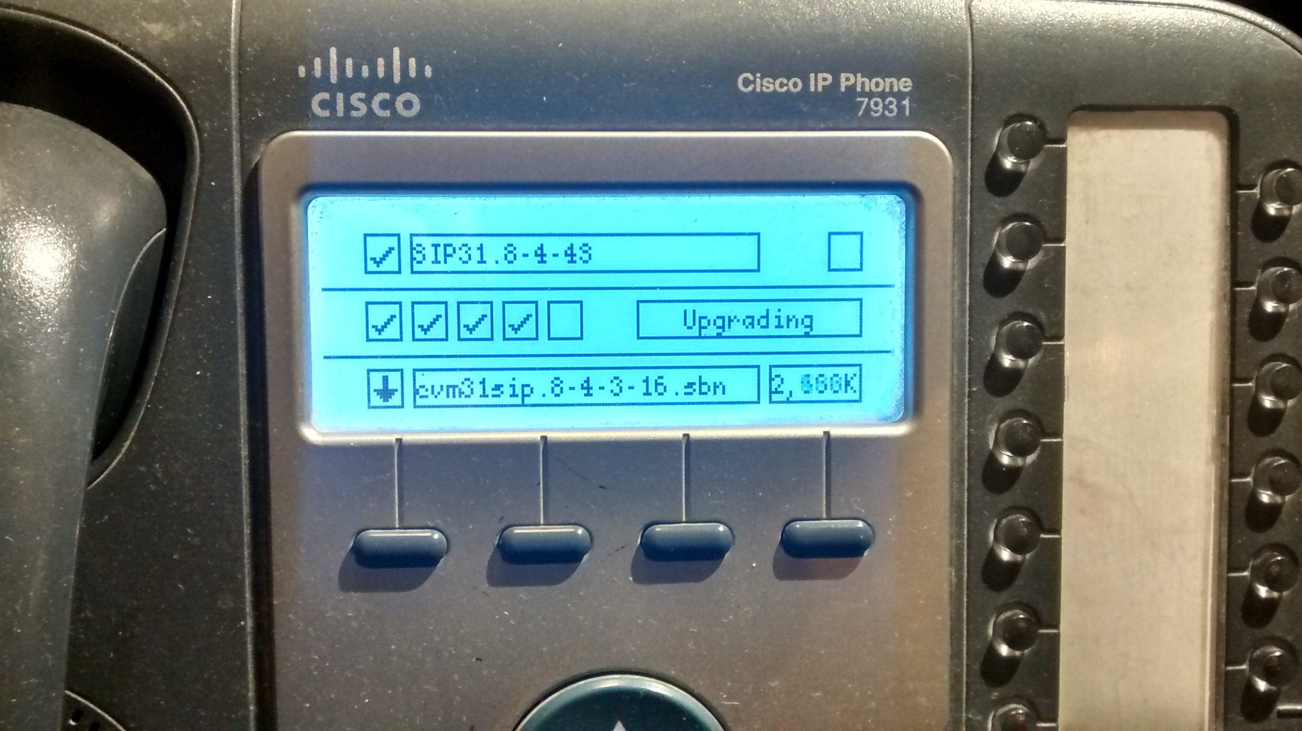 Converting Cisco 79x1 phones from SCCP to SIP | Smart Vision